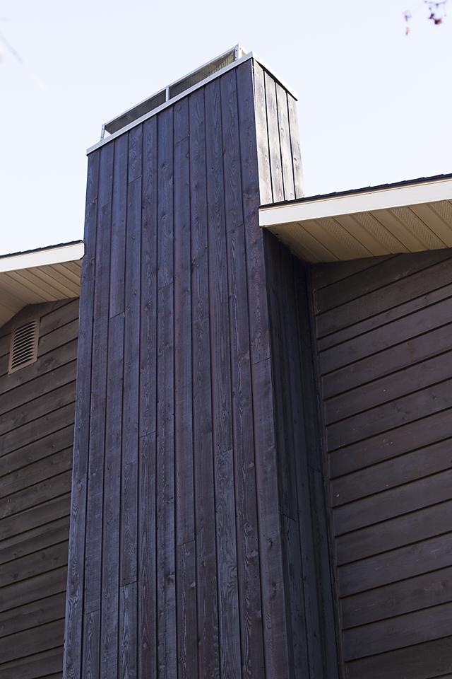 Cedar Vertical Siding Restoration