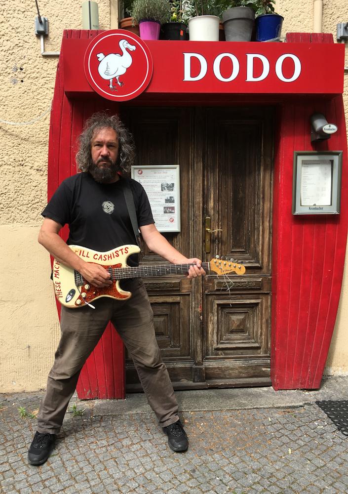 At Club Dodo, Berlin, run by Impresario Rolf! June 2016.