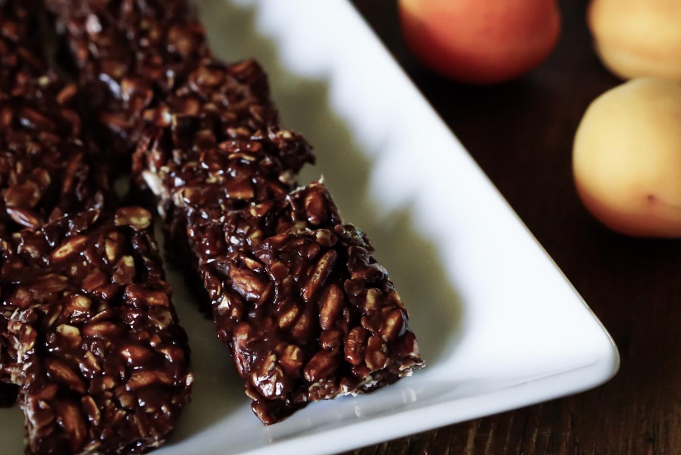 chocolatey chewy granola bites