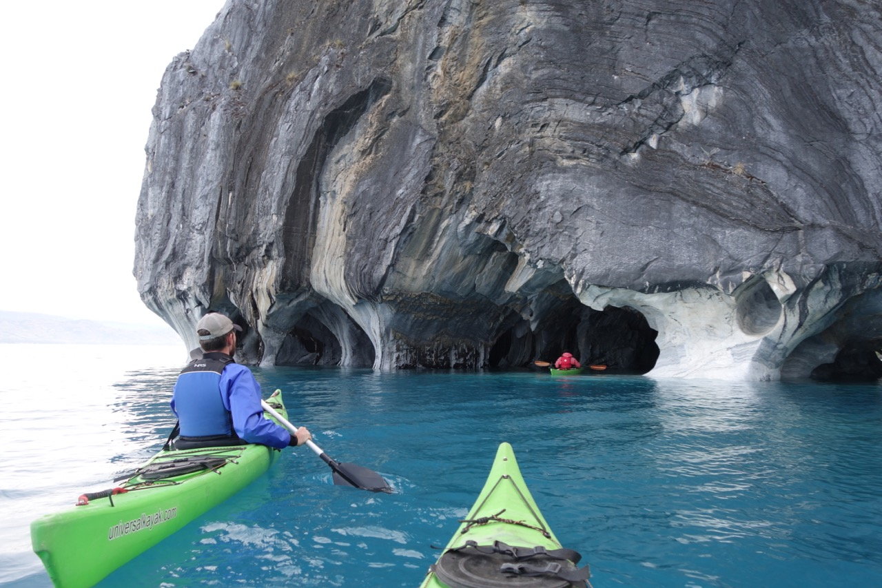 Kayaking the Marble Caves in Rio Tranquilo