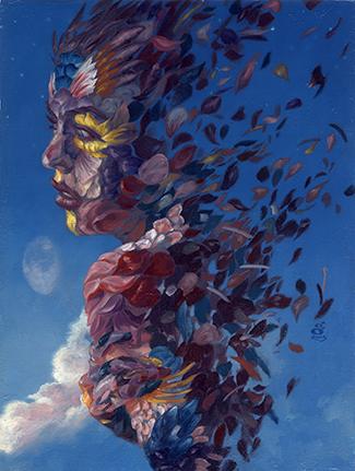 """This Twilight Garden"" 6x8"" oil on canvas sold"