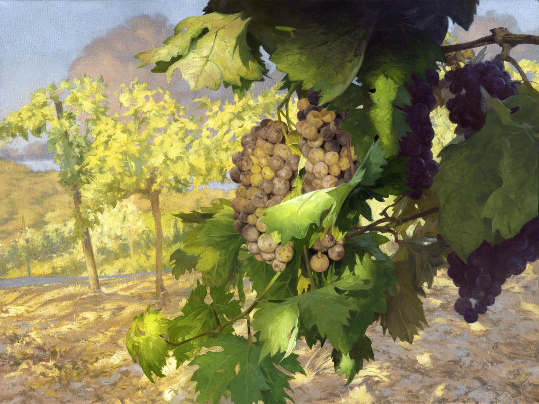 """""""Midsummer"""" 18x24"""" oil on canvas"""