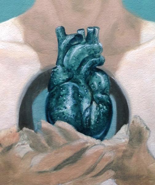 In progress, with the earlier heart rendering