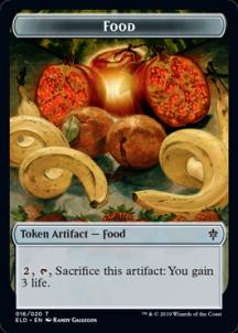 A humble token card