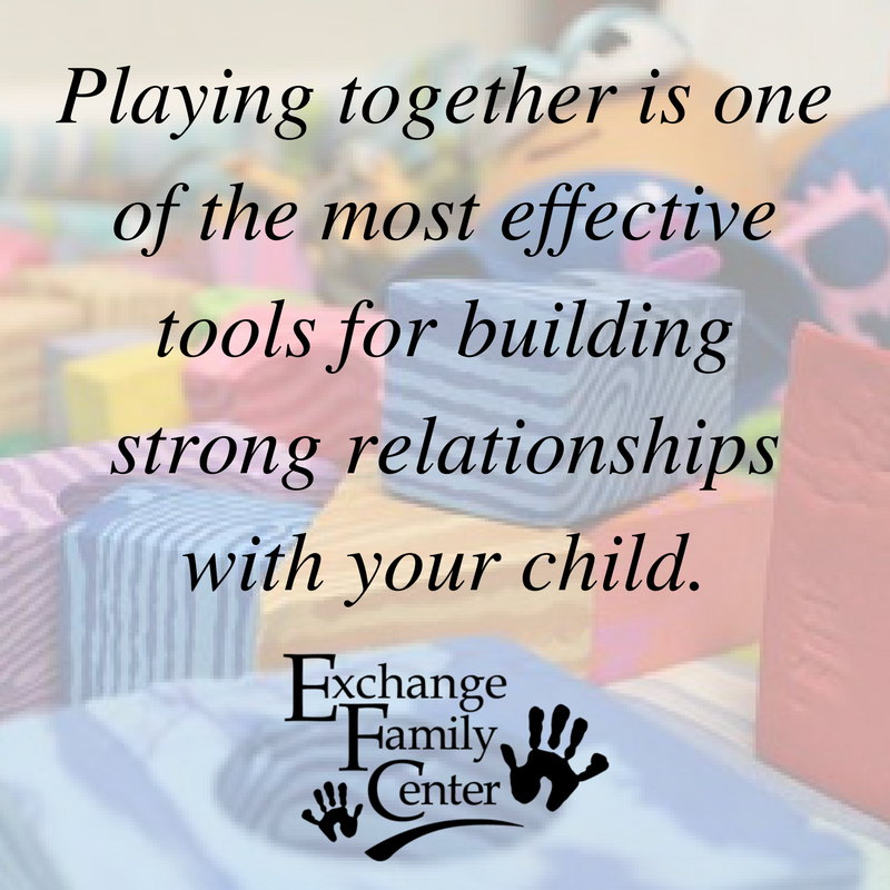 play helps build strong relationships