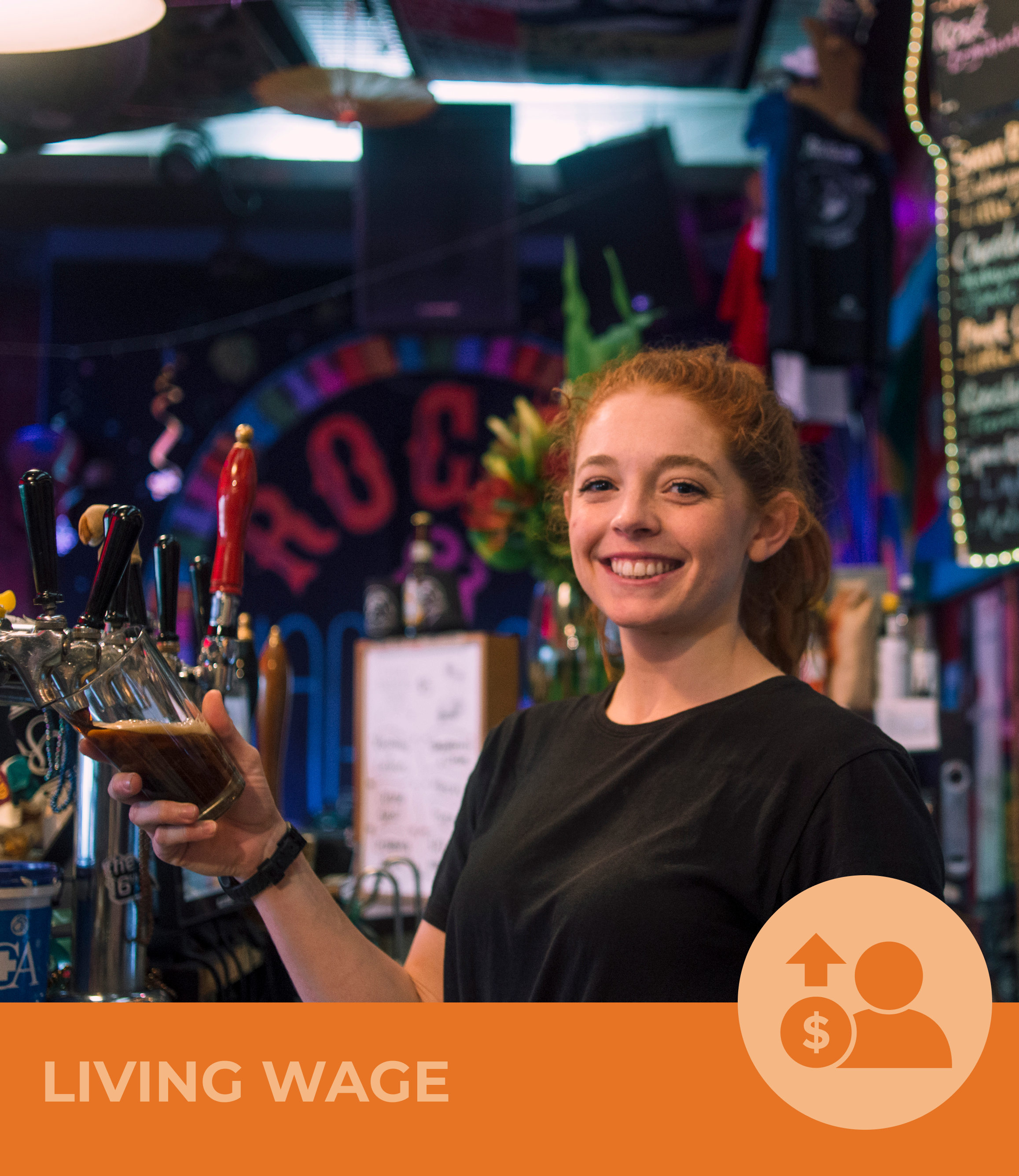 The CoGo effect:  Became Living Wage accredited   The impact:  All 19 staff at Rogue and Vagabond are now paid the Living Wage!