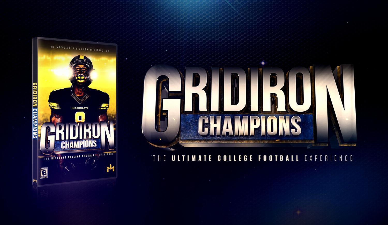 Gridiron Champions — iMackulate Vision Gaming
