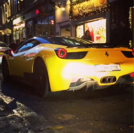 Ok so this is a Ferrari not a Lamborghini!