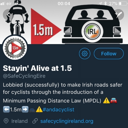 Visit: 'Stayin' Alive at 1.5' campaign