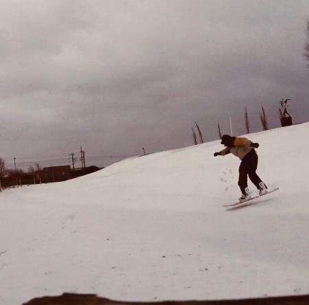 Photo credit: Richard Donelan    www.RichardDonelan.com  Watch video of me snowboarding in my local park  here !