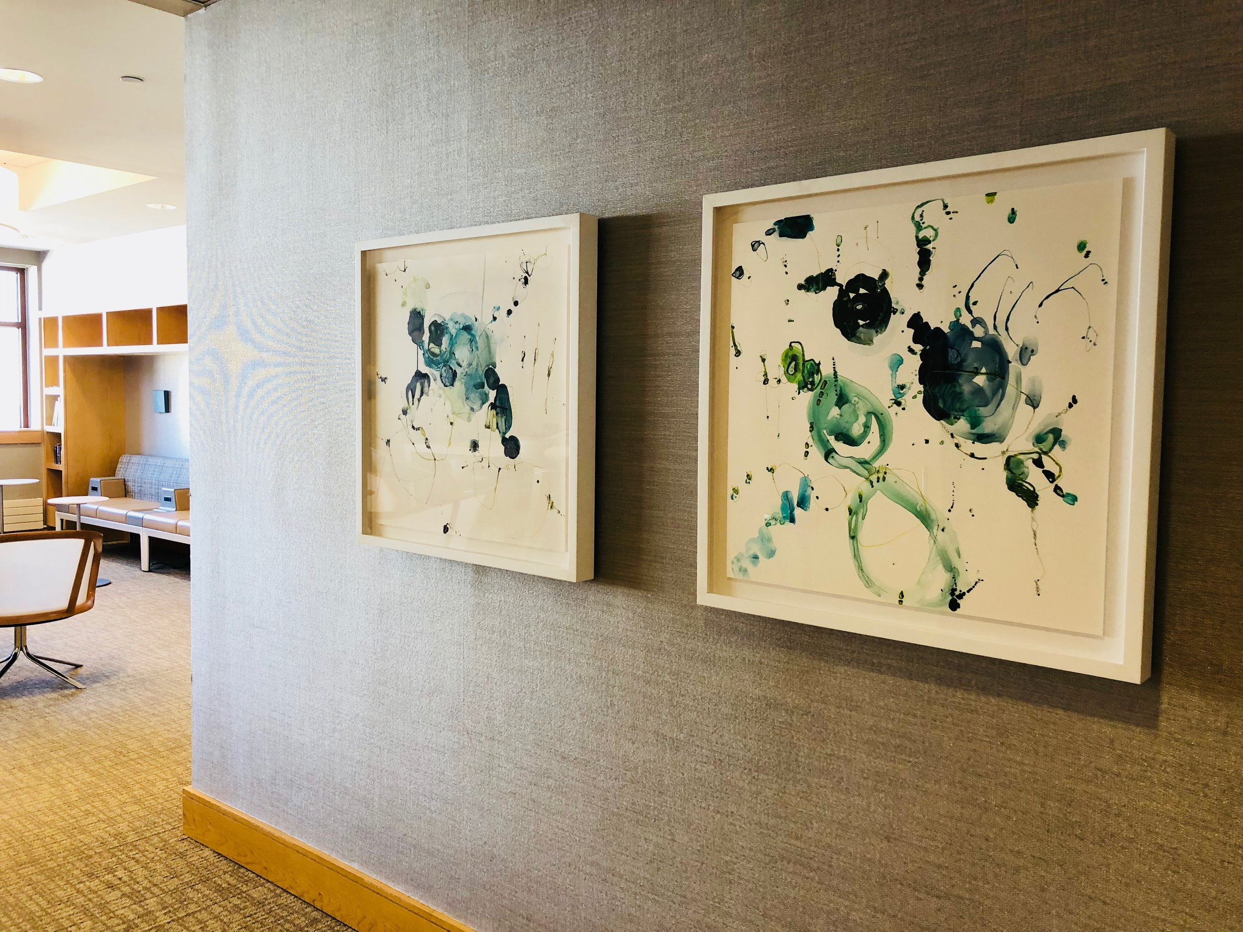 Installation View: Alison Cooley, Tidal 8179 and Tidal 8183