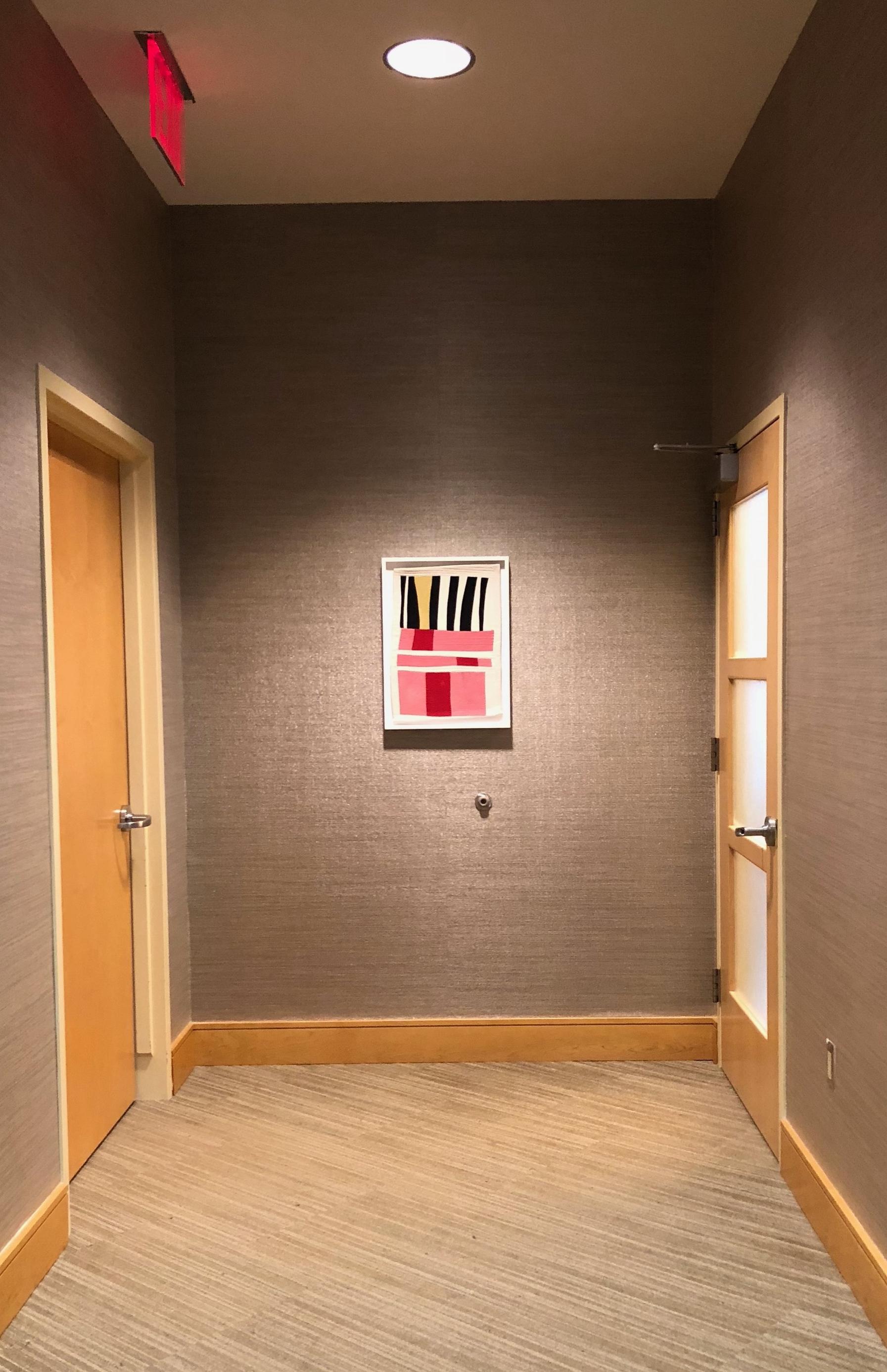 Installation View:Valerie Zeman, Form/Color #2, 2017