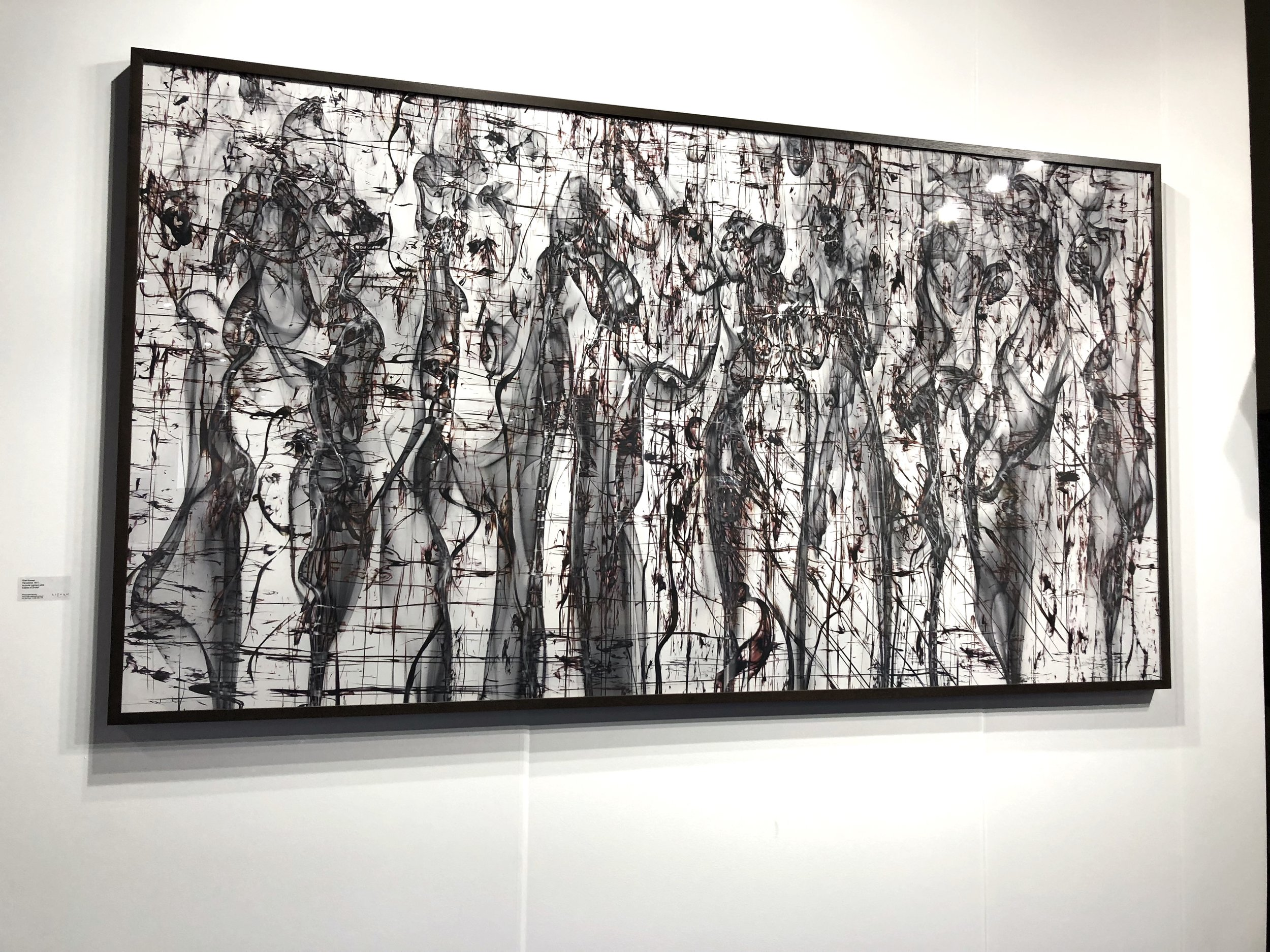 Shai Kremer,  Panorama , 2017 Archival pigment print Edition of 3+2AP, 57 x 105 inches  Litvak Contemporary Booth: Installation View