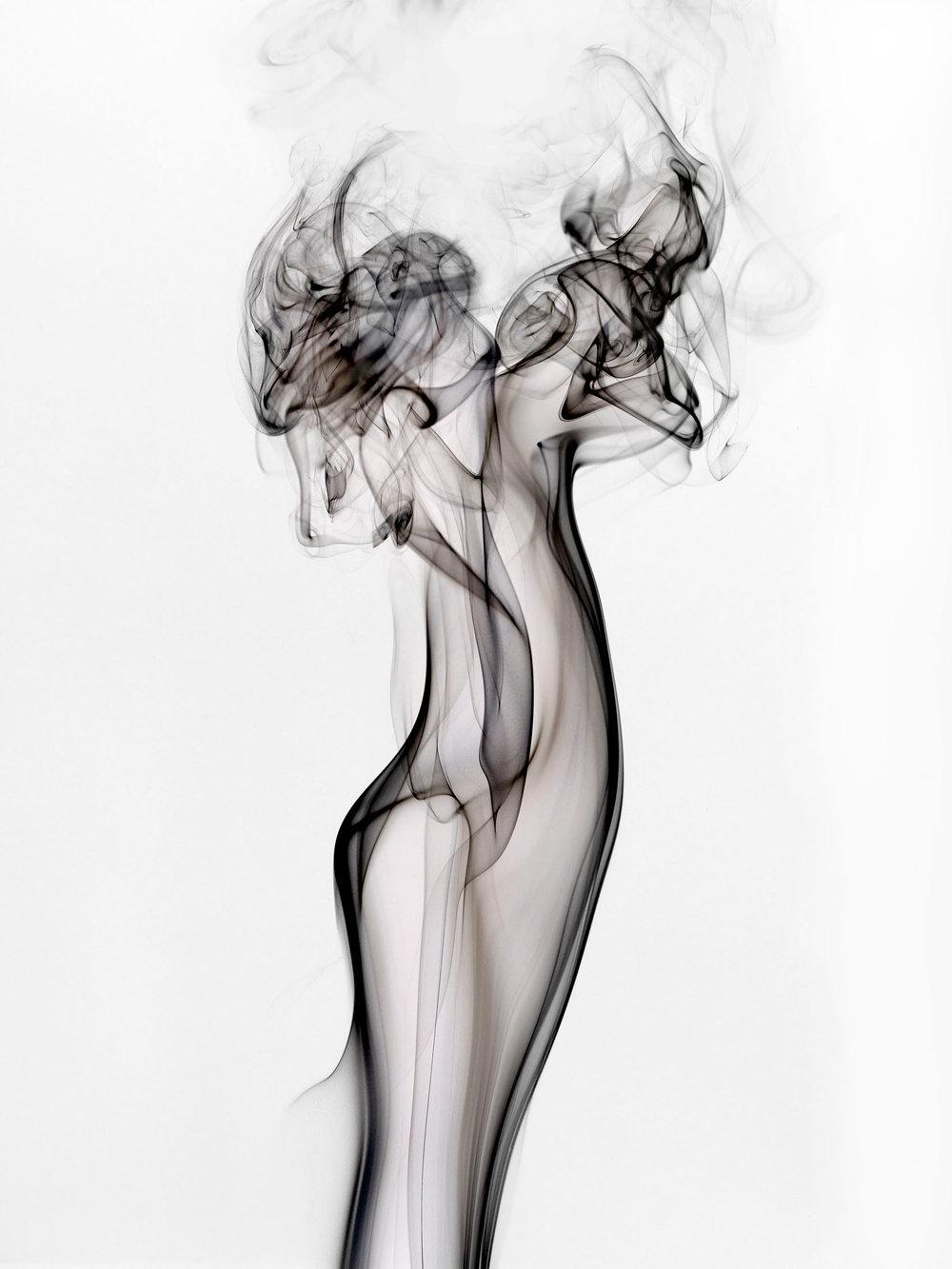 Shai Kremer,  Perception #5 (white) , 2017 Archival pigment print, Edition of 7+2AP, 40x30 inches