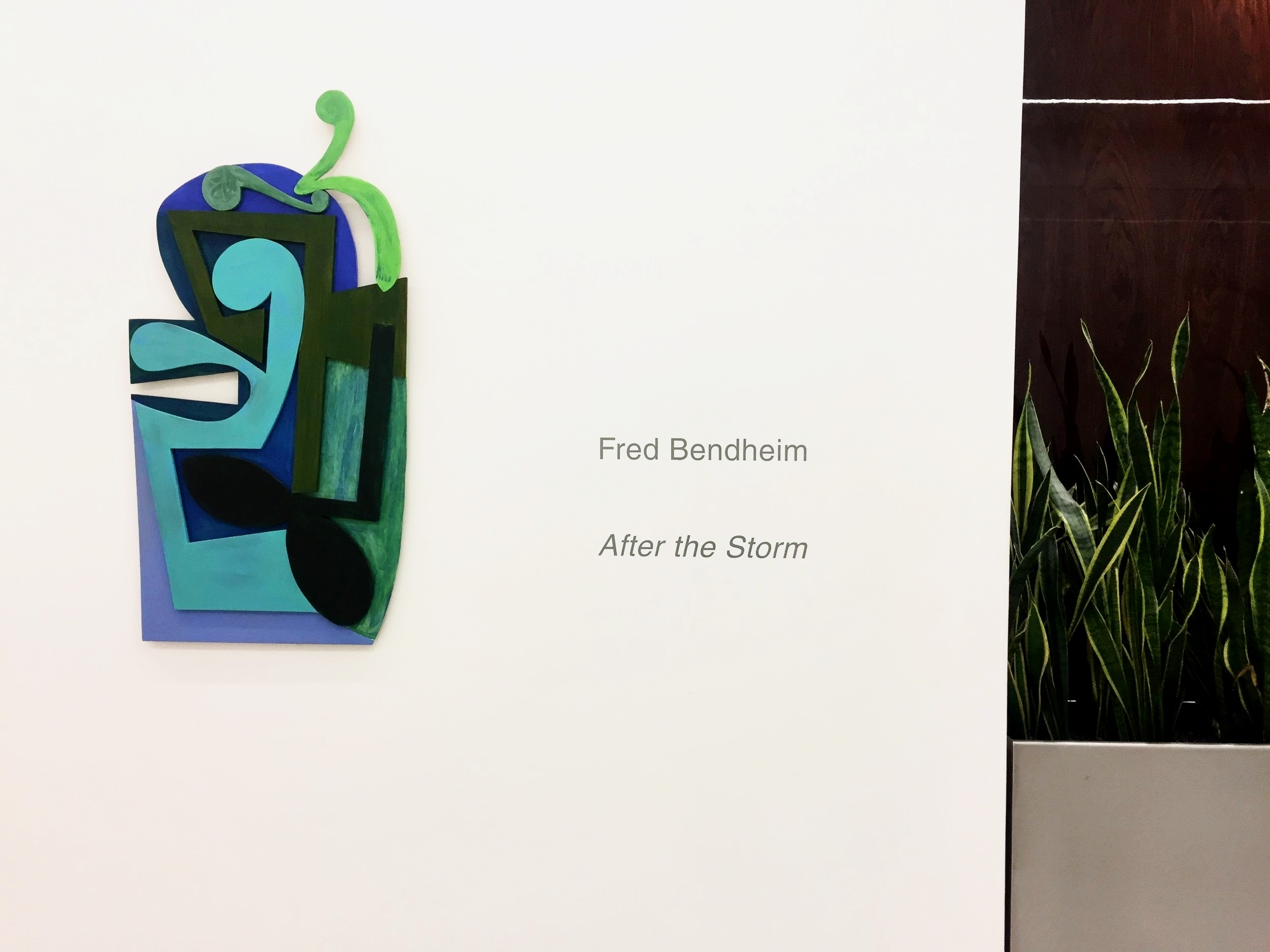 Installation View:  Fred Bendheim: After the Storm
