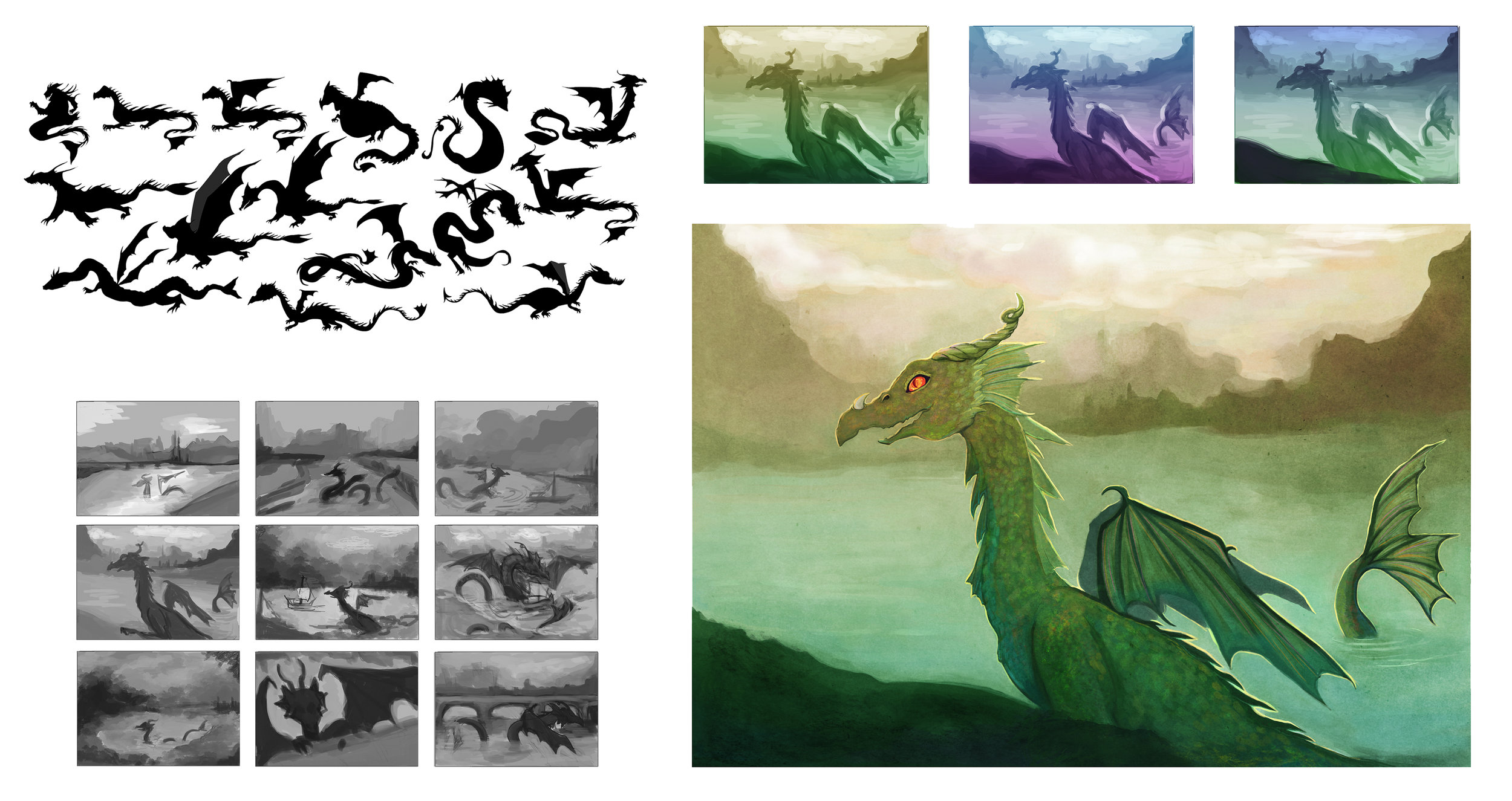 Creature Design - Sea Dragon