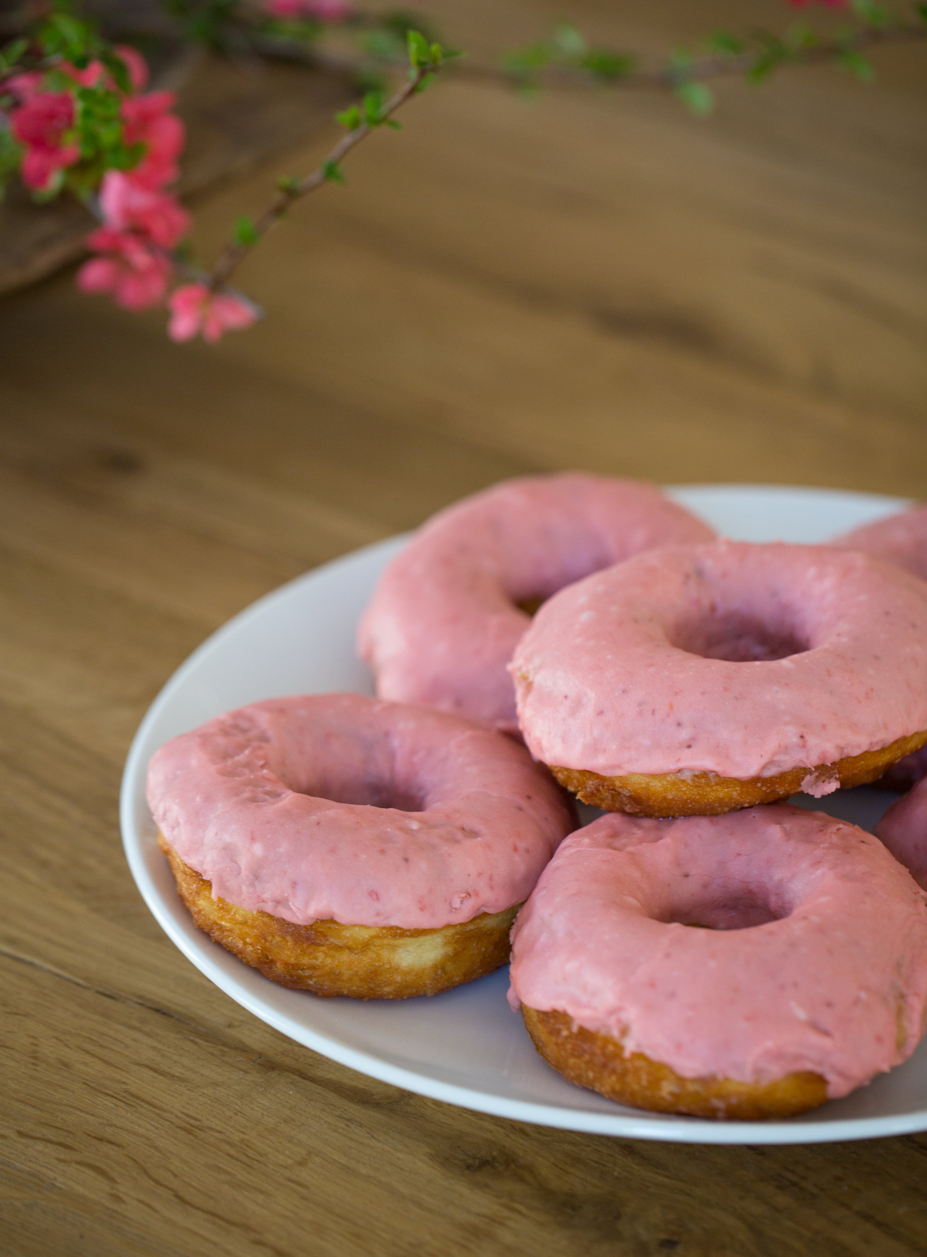 pink donuts kitchen styling johnny