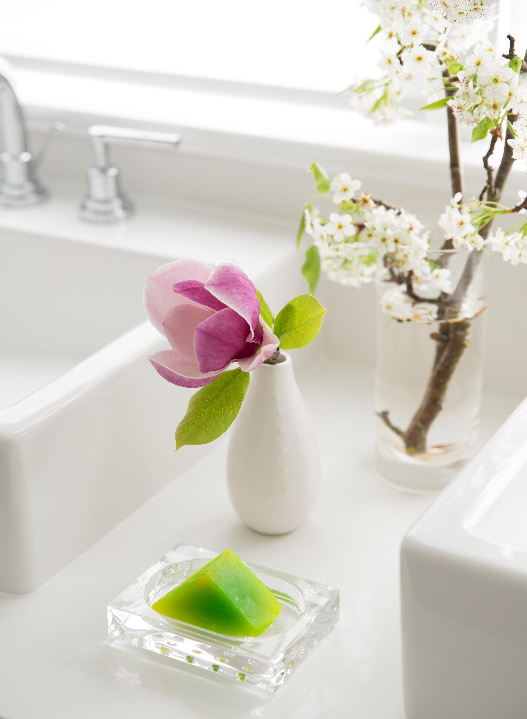 lush soap styling bathroom