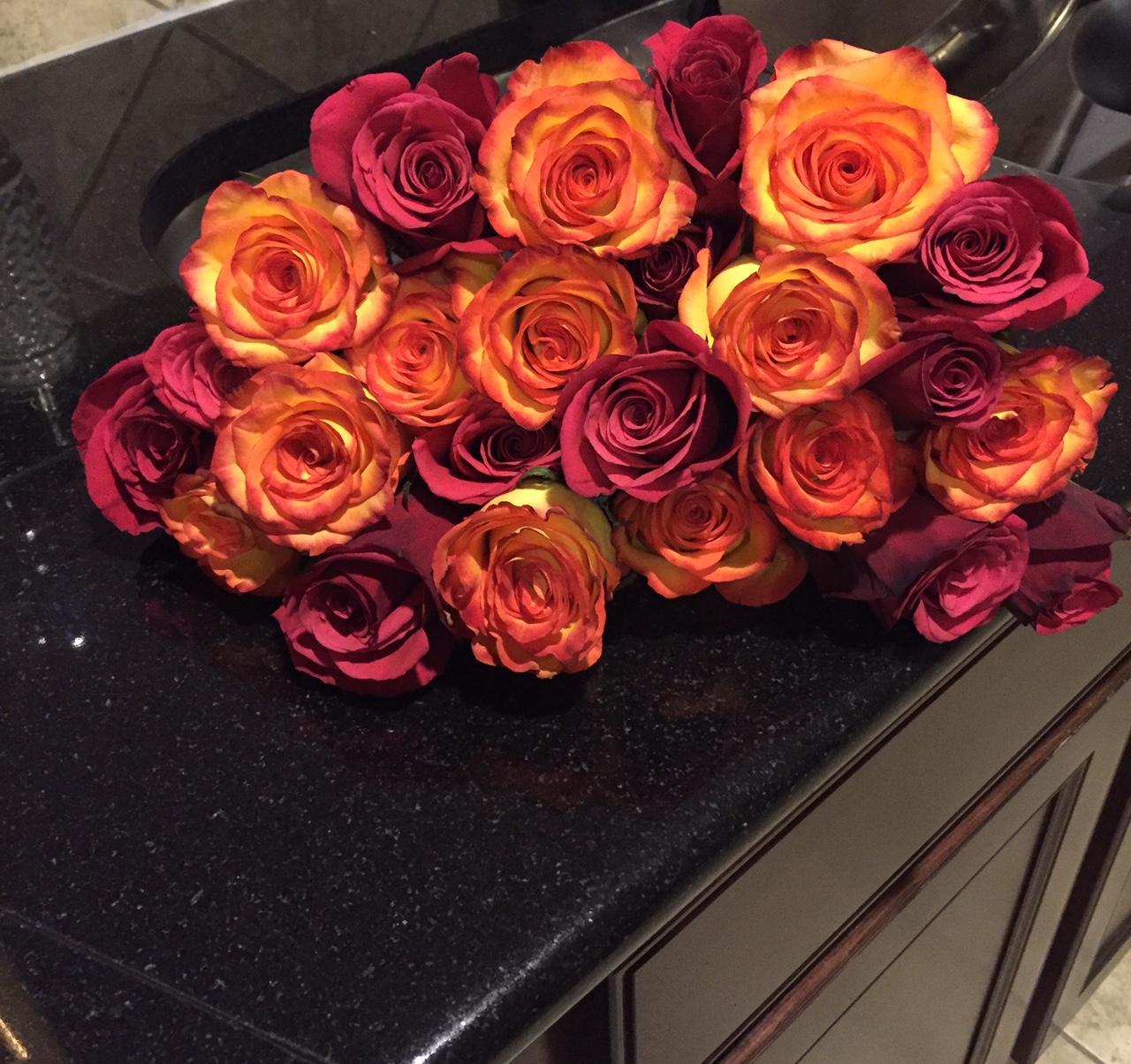 Supermarket flowers