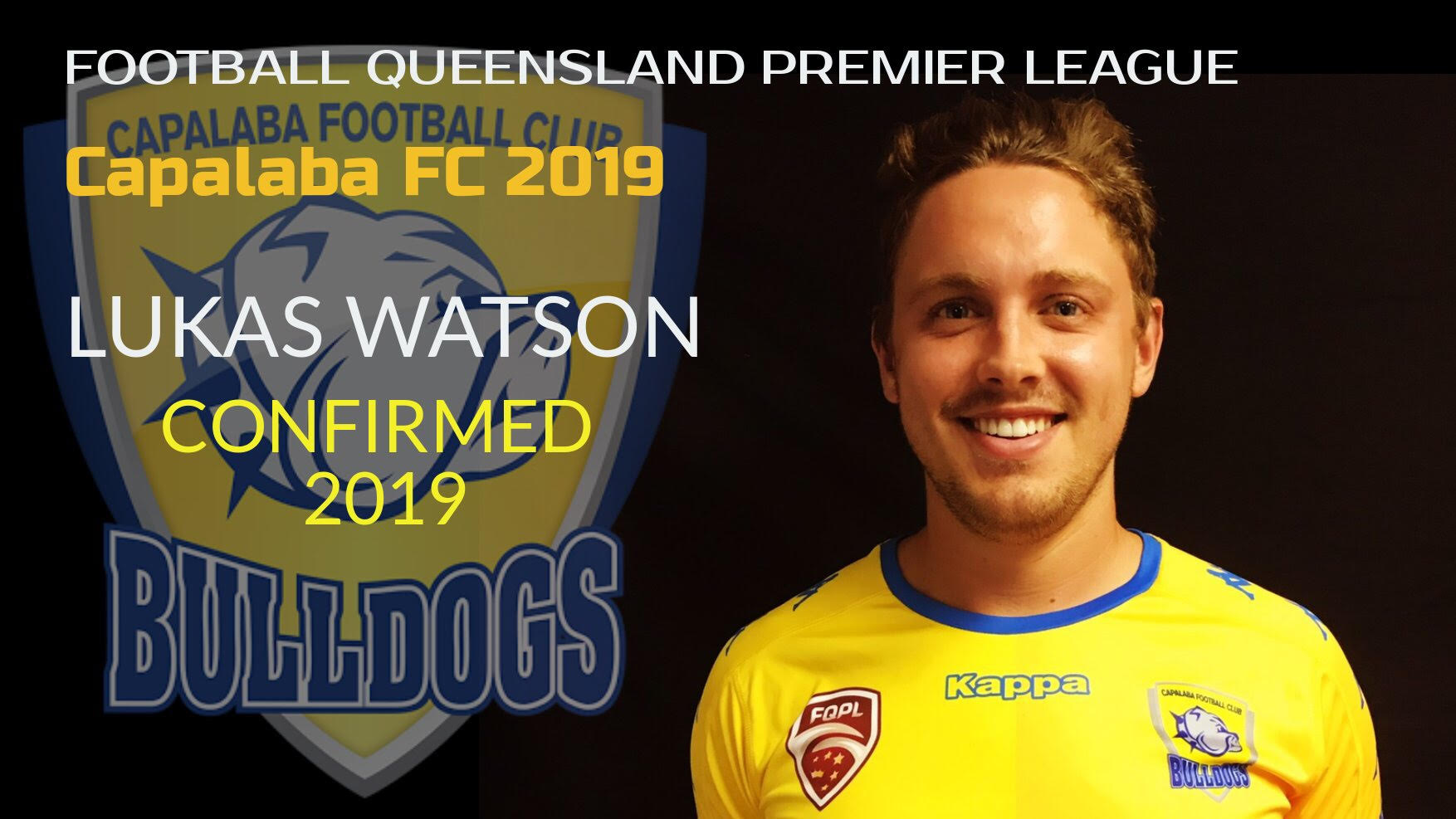 Lukas Watson Re-Signs for Capalaba FC in 2019
