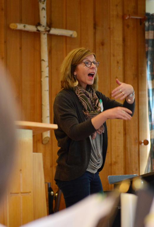 Margo Nightingale, Artistic Director for Aurora Chorealis