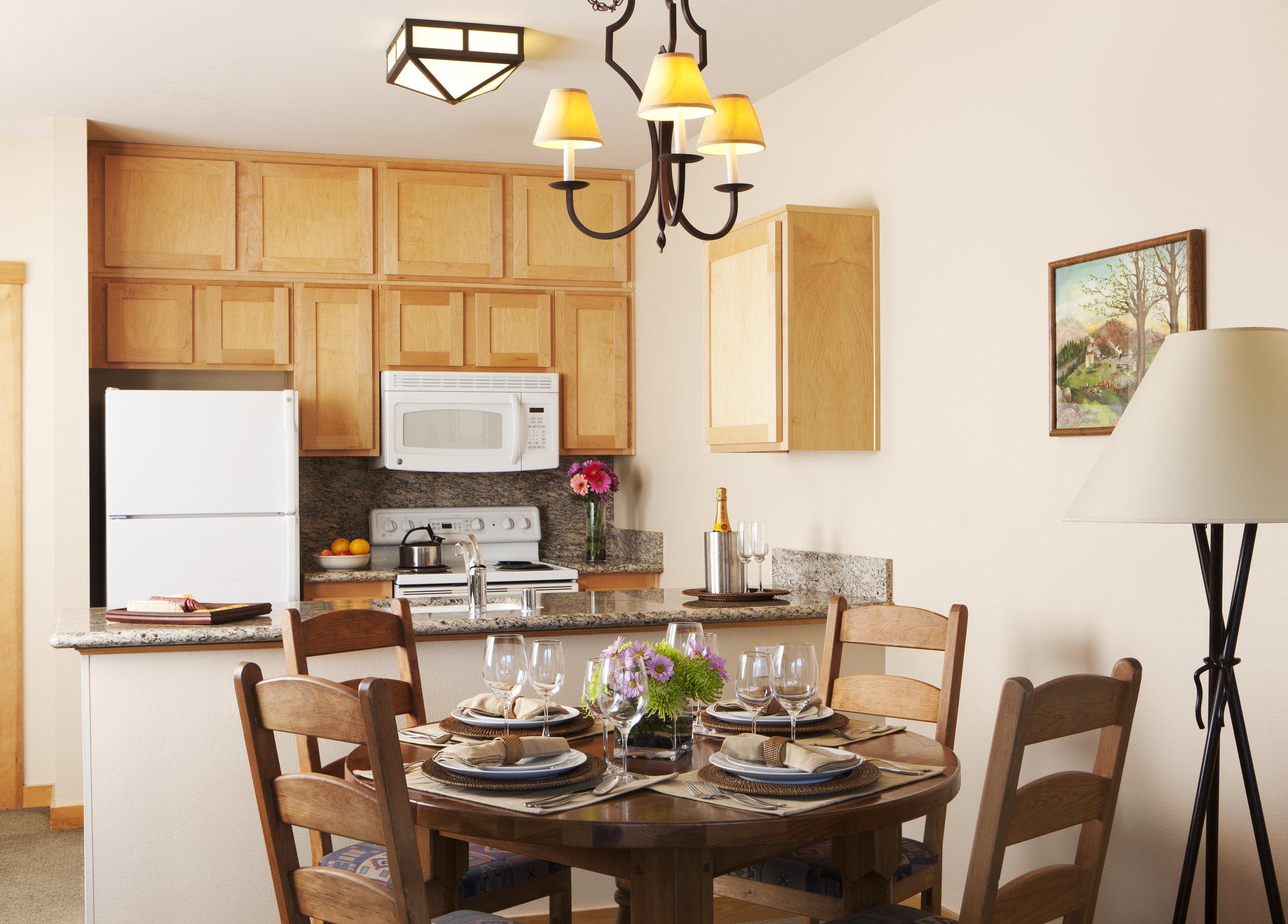 One Bedroom Condominium J1C1K4 - Dining Area.jpg