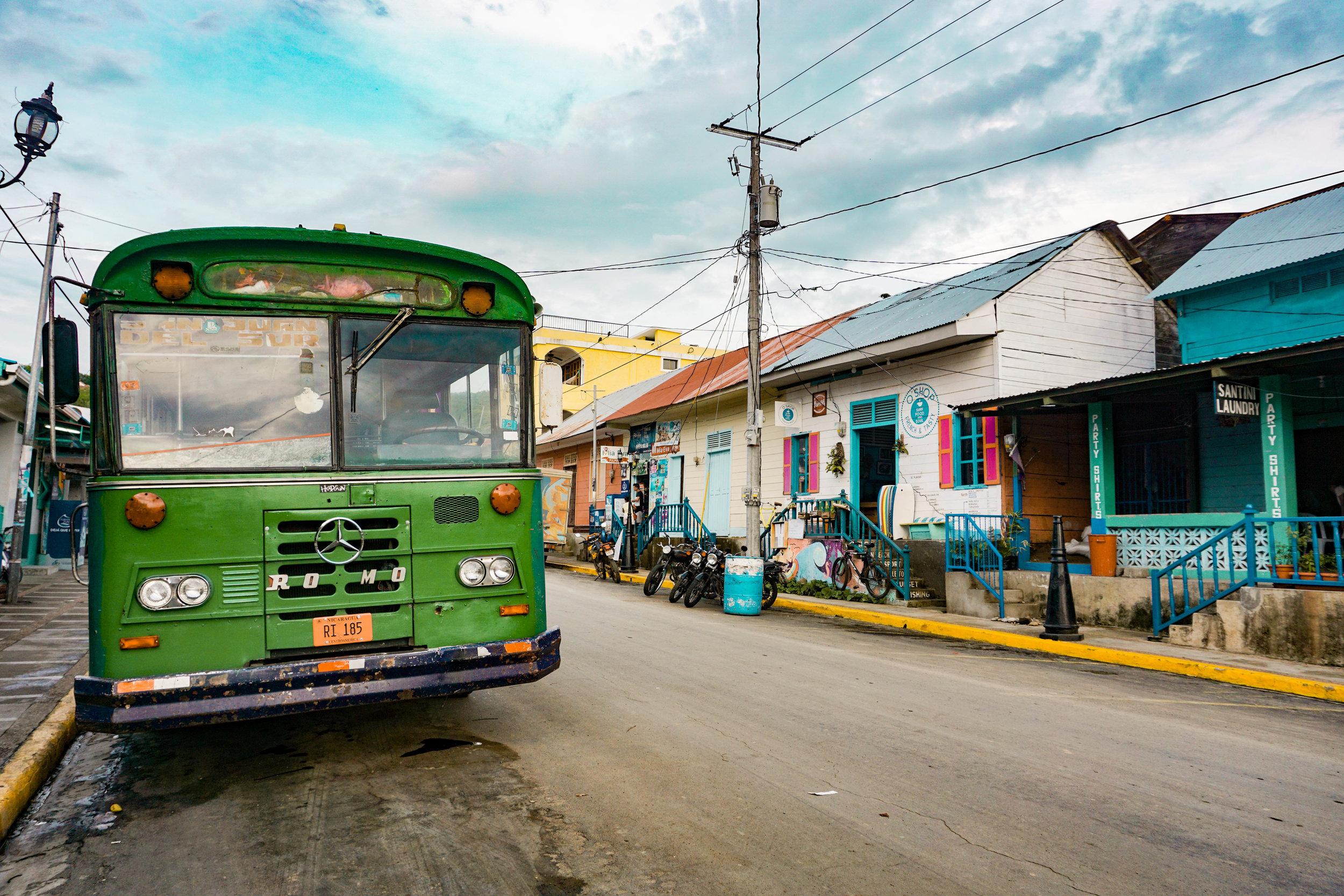 Streets of San Juan Del Sur, Nicaragua