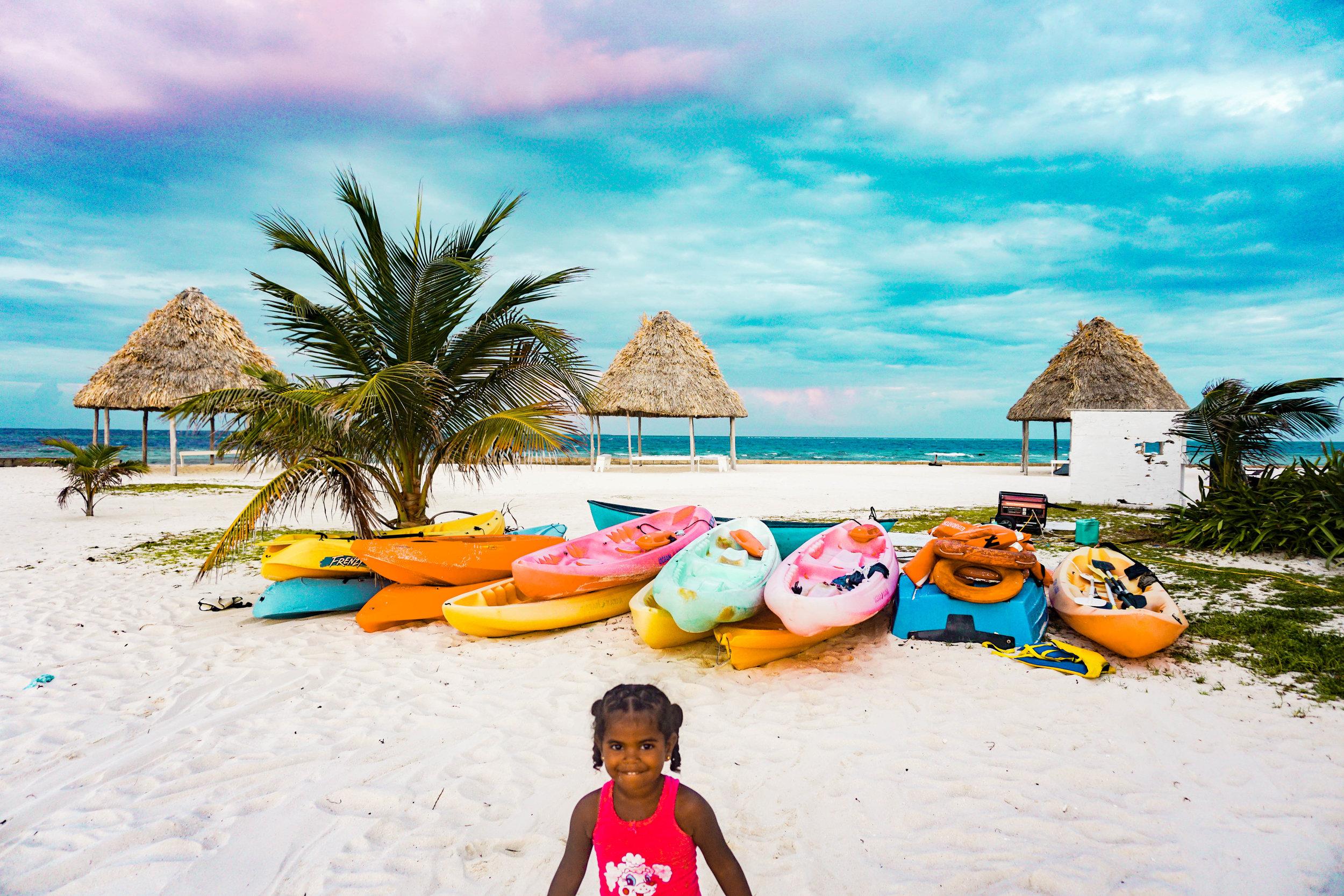 Remote Caye in Belize