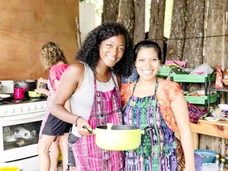 Cooking class in Guatemala!
