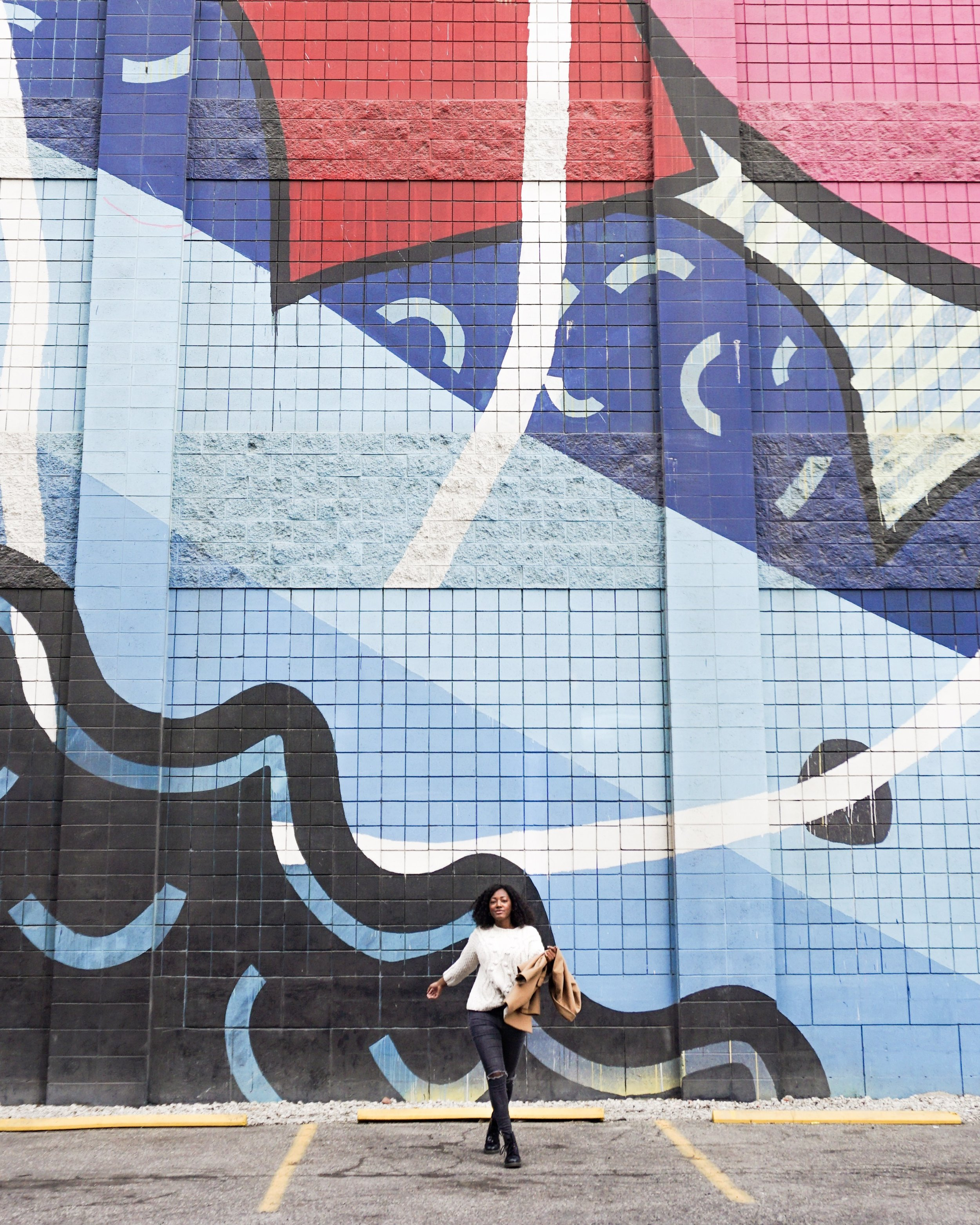 Street art galore in Downtown Detroit