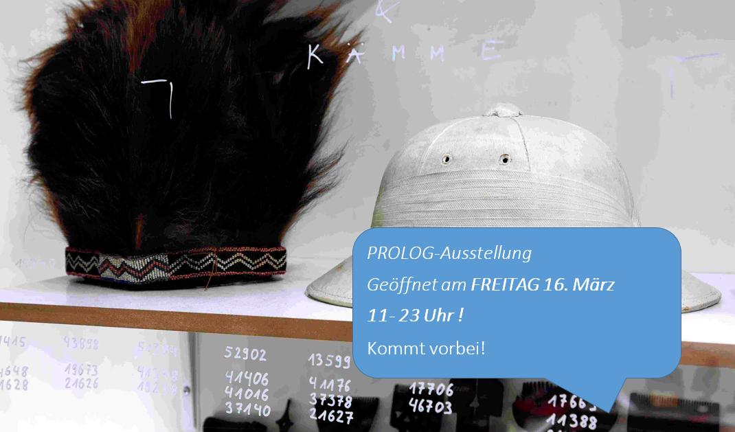 - 14.03.2018: PROLOG geöffnet am 16. MärzIm Rahmen des PROLOG-Festivals hat die PROLOG-Ausstellung auch am Freitag 16. März 11 - 23 Uhr geöffnet. Alles wie immer? Nicht hier.