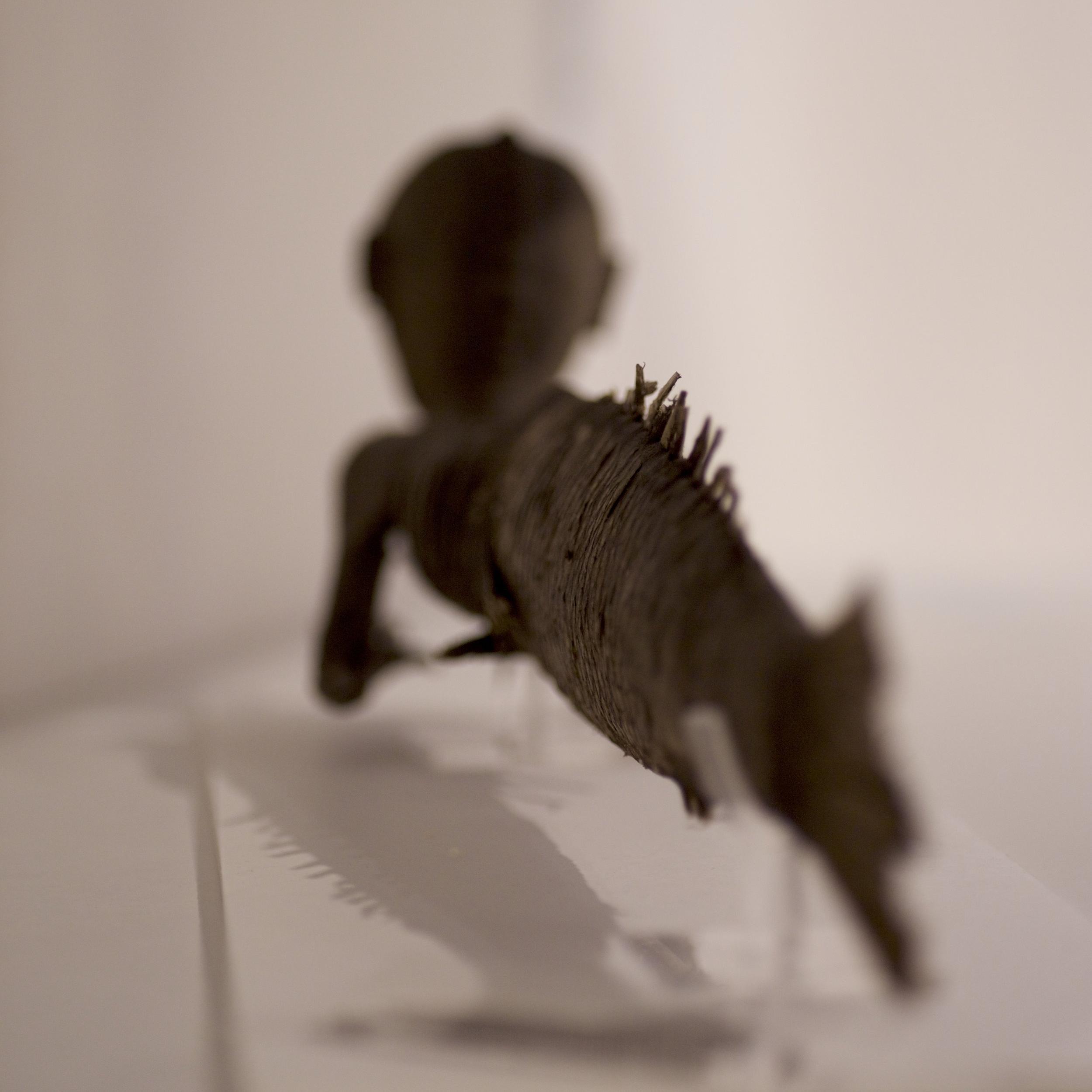 Kleine Meerjungfrau - Auch das letzte Objekt ist aus TaxoMania verschwunden. Das kleine Meerwesen wurde behutsam aus dem Vitrinenschlaf geweckt und in einer gemütlichen Kiste untergebracht, wo es schlummern kann, während ein großer Teil der Taxomania-Sammlung nach Leipzig umzieht.