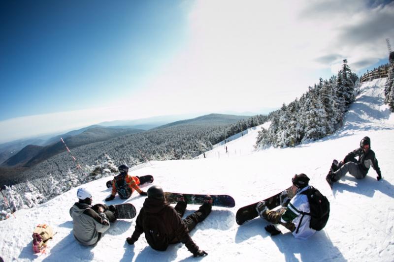 Killington's peak is 4,241 feet above sea level [Vermont]