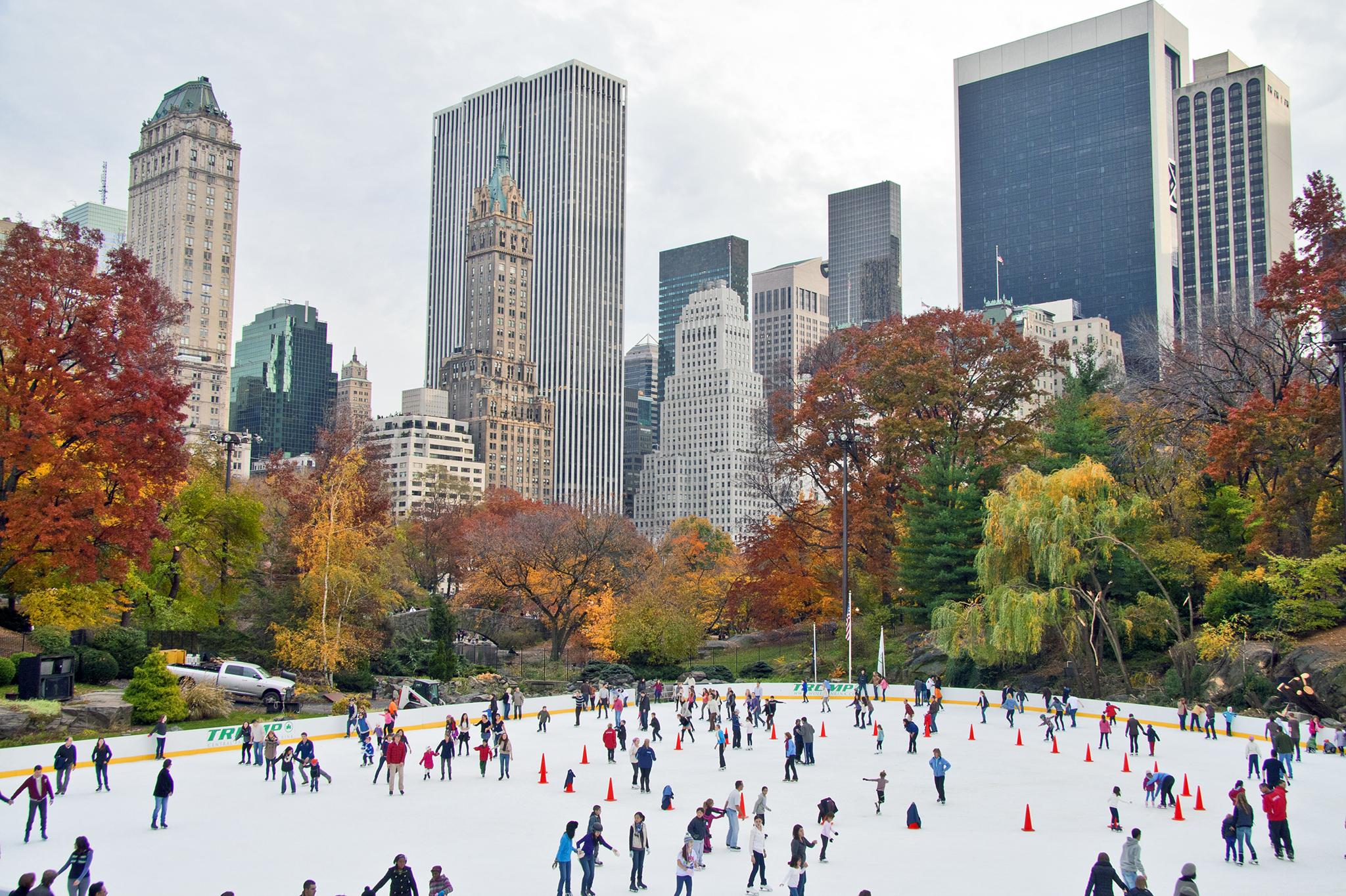 Ice Skating in Central Park [New York]