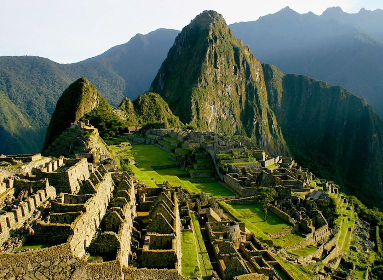 The lost city of the Incas, Machu Picchu [Peru]