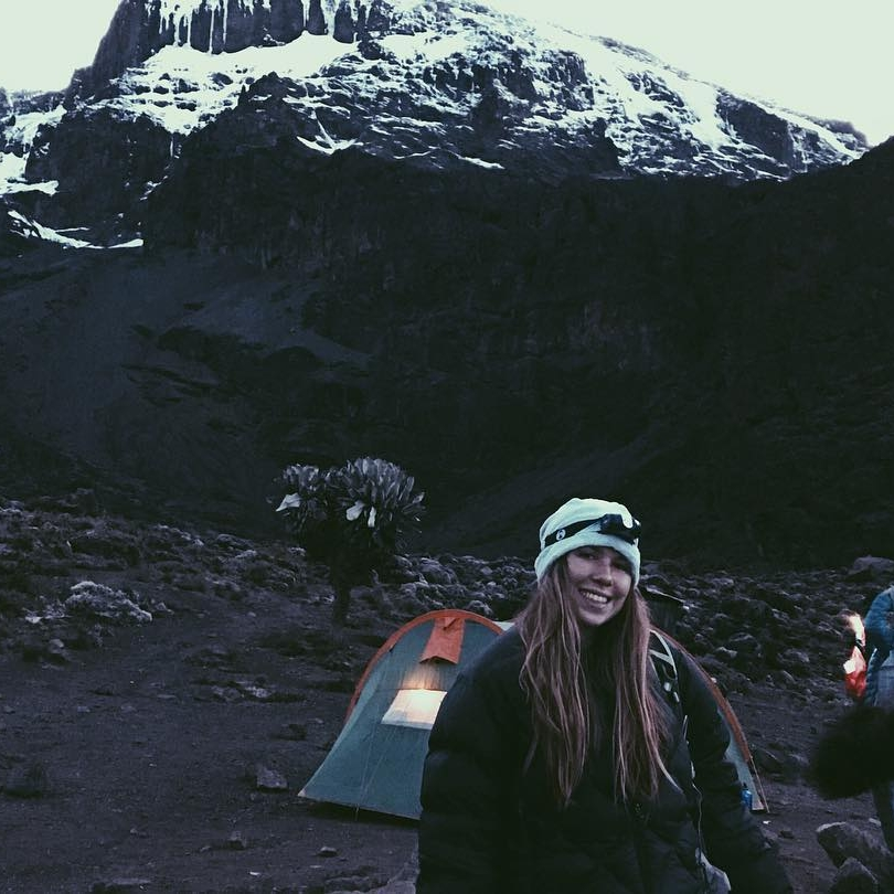 Lexa Nutter  Boston University  Challenges:  Kilimanjaro  ,  Everest Base Camp ,  Machu Picchu
