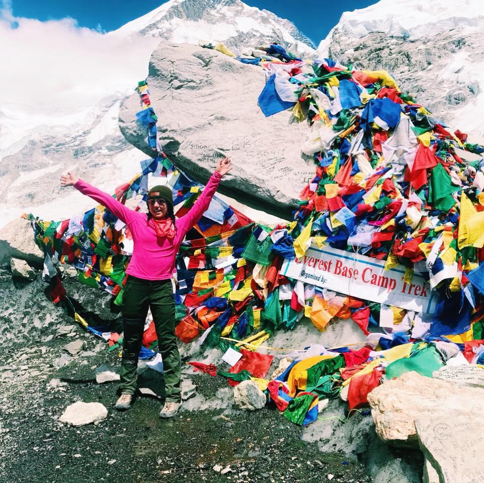 Noelle Fallacara  Boston University  Challenges:  Kilimanjaro  ,  Everest Base Camp ,  Machu Picchu