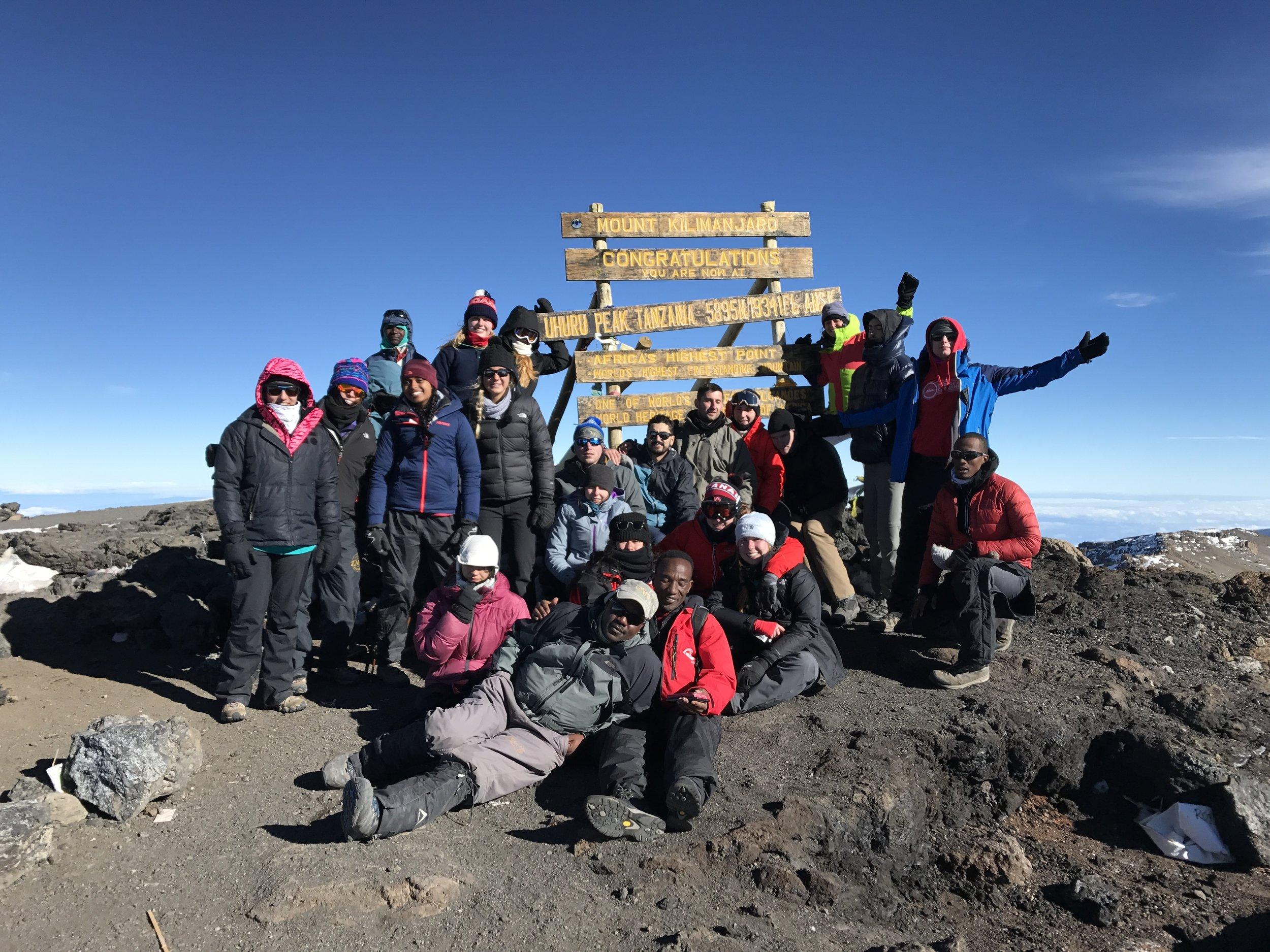 mt kilimanjaro choose a challenge college travel summit affordable