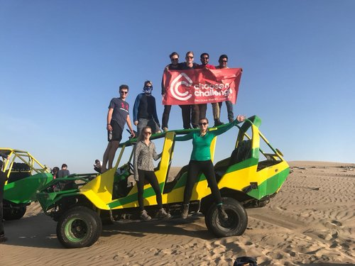 HIT THE DUNES - This incredible extension trip gives you the opportunity to go dune-buggying and sand-boarding on Peru's awesome sand dunes.With the dunes at Huacachina reaching several hundred feet high, this is not an activity for the faint-hearted!5 days/4 nightsReg. fee: $175Balance payment: $500