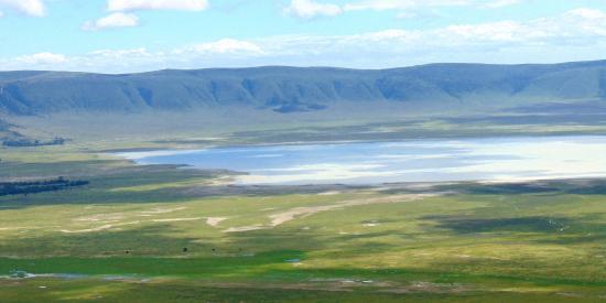 - Entering Ngorongoro National Park