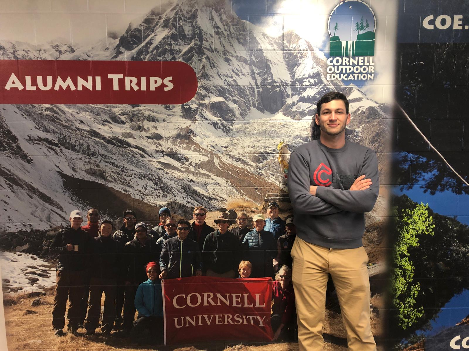 Outside Cornell Outdoor Education