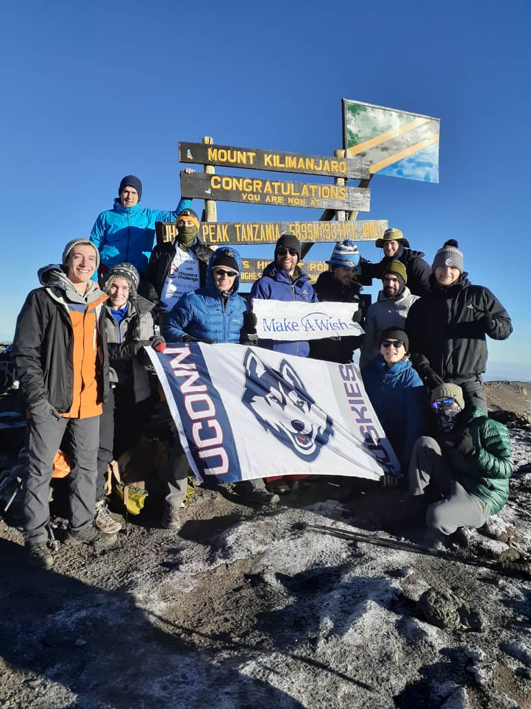 NEWS 12 CONNECTICUT:  College students prepare to climb Mount Kilimanjaro