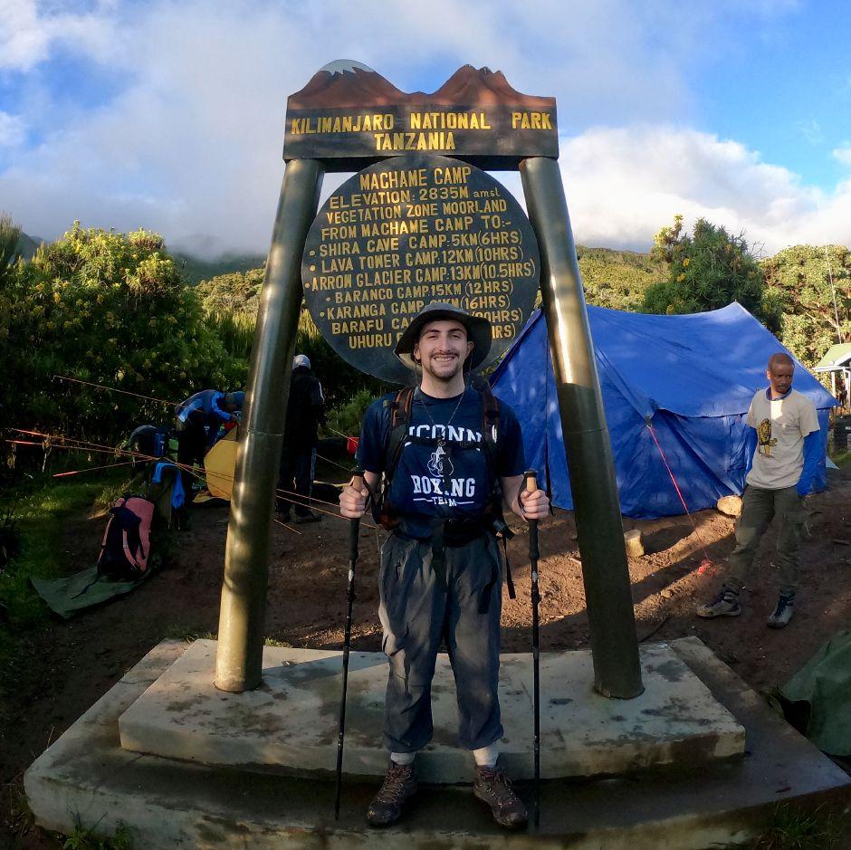 uconn kilimanjaro choose a challenge
