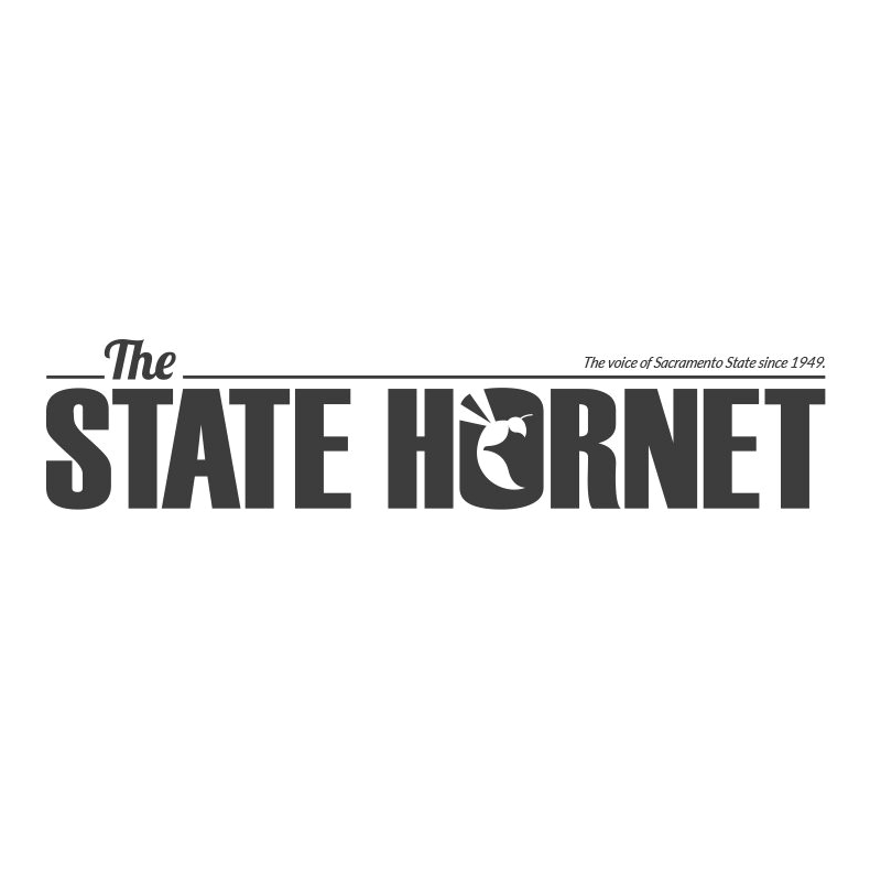 state hornet greyscale logo.png