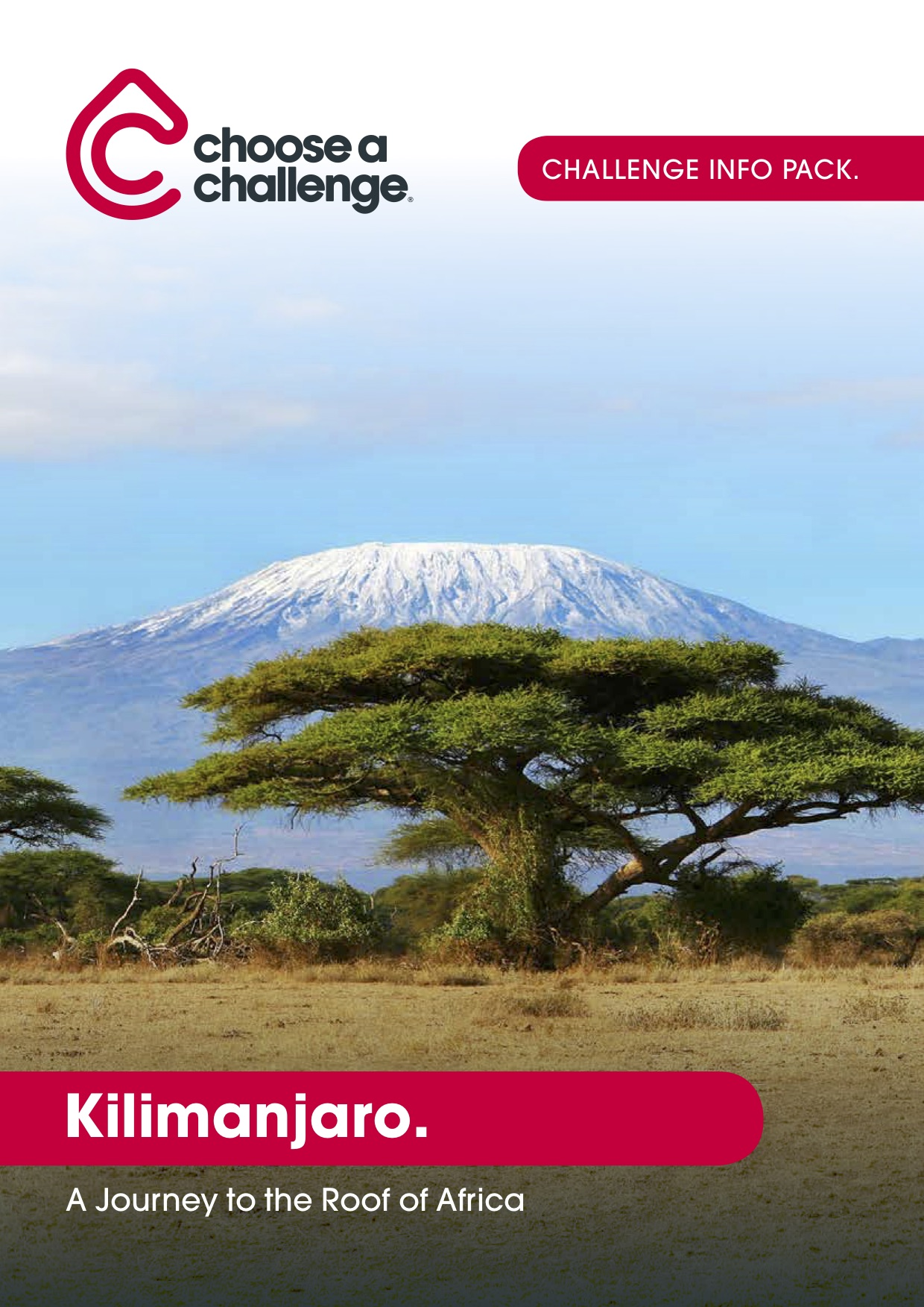 Mt. Kilimanjaro - Download the full trip brochure to learn more about your accommodations, pricing and the trip itself