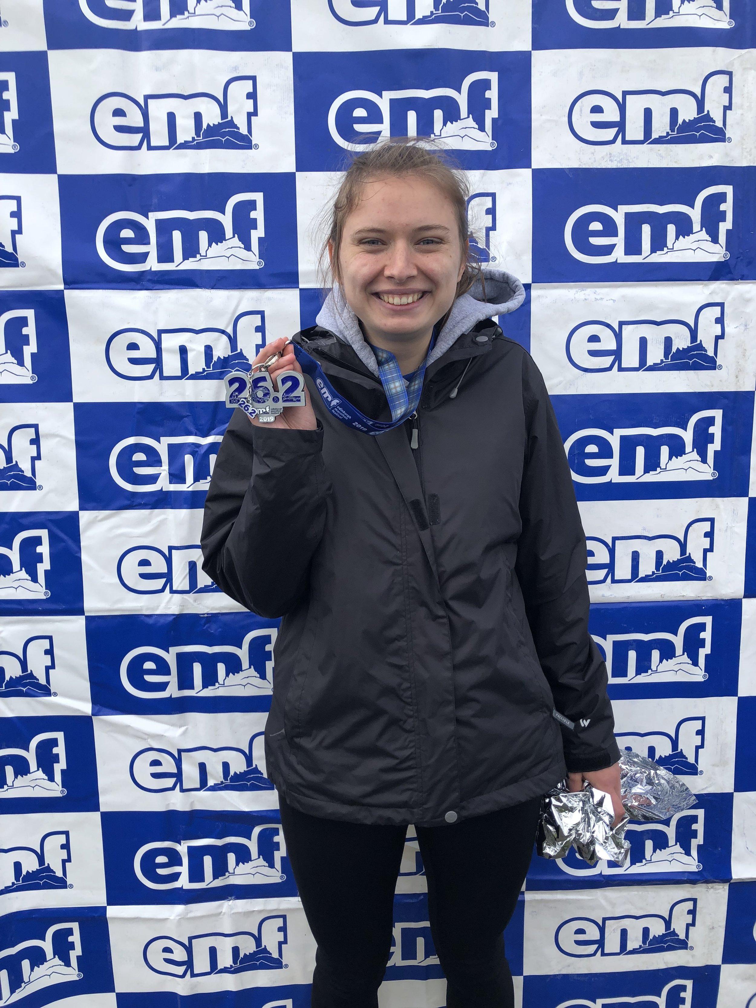 Elizabeth Chamiec-Case  University of Connecticut  Challenge:  Edinburgh Marathon