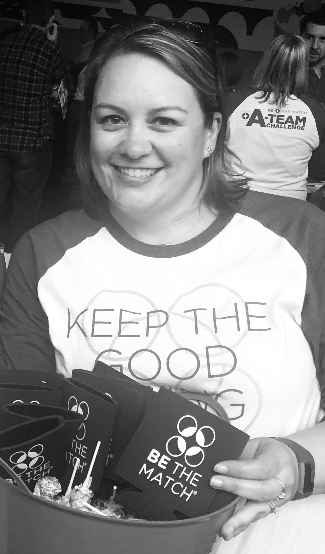 Kristi  Community Fundraising Specialist  email:  klindstr@nmdp.org