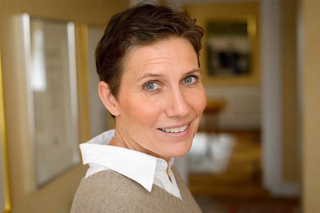 Ebba Fischer, Chair of The Crafoord Foundation. Photo: Kennet Ruona, courtesy of The Crafoord Foundation.