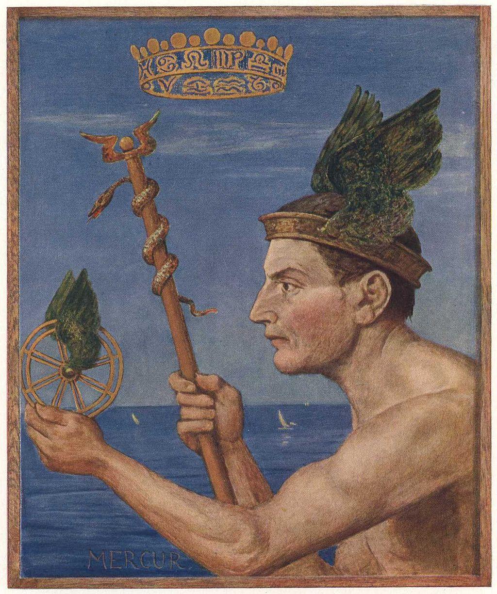 Mercurius litteras CIceronis affert. Learn Latin with Latinitium.com