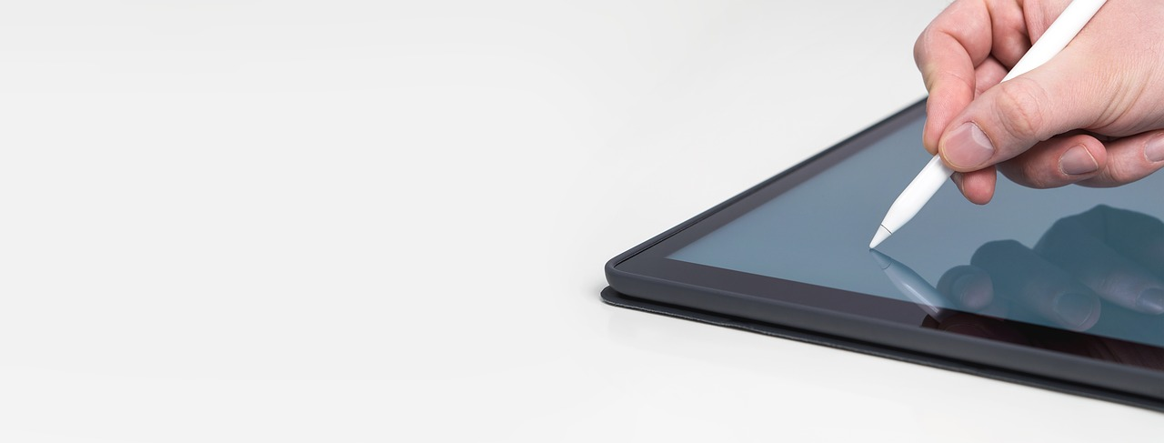 Modern version of the wax tablet and stylus.